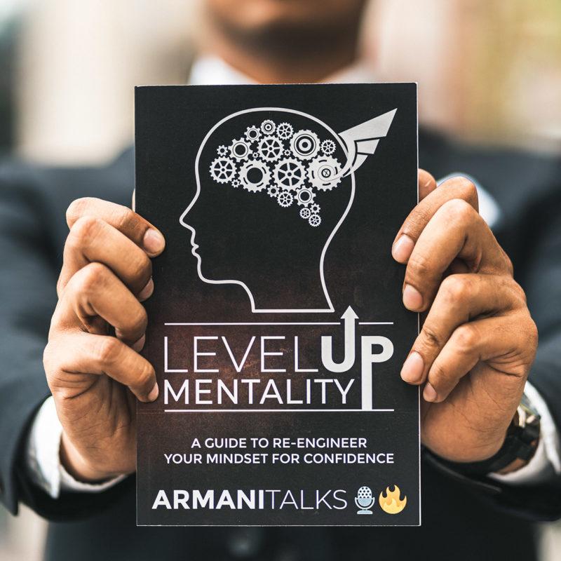 Armani Talks Book- Level Up Mentality