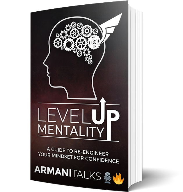 Armani Talks Book- Level Up Mentality